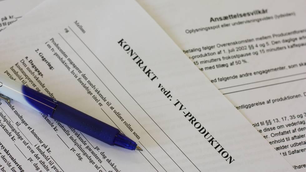 Kontrakter og deadlines